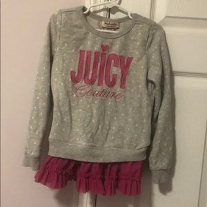 Little girls Juicy Couture Sweater